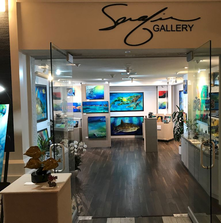 Serafin Gallery at The Waterfront Beach Resort