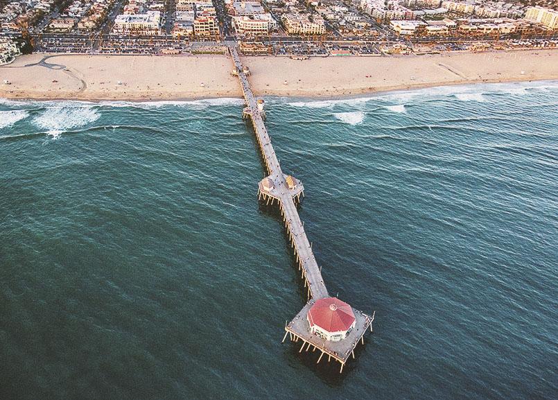 Huntington Beach Pier, California