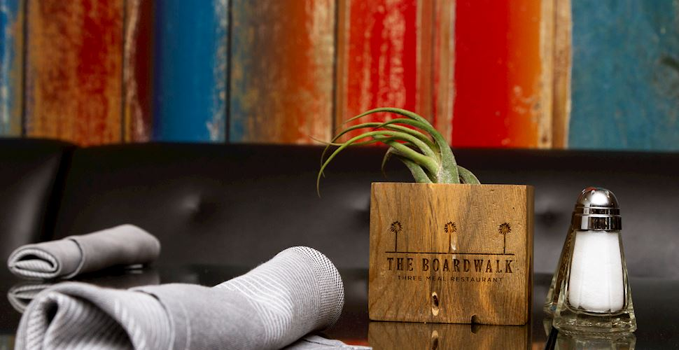 The Boardwalk Restaurant at The Waterfront Beach Resort, Huntington Beach