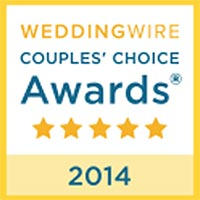 WEDDINGWIRE Couple's Choice Awards 2014