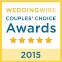WEDDINGWIRE Couple's Choice Awards 2015