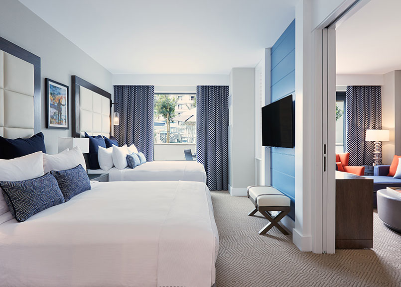Bungalow Suite in Waterfront Beach Resort - a Hilton Hotel, Huntington Beach