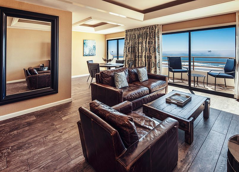 Governor Suite at The Waterfront Beach Resort - a Hilton Hotel, Huntington Beach