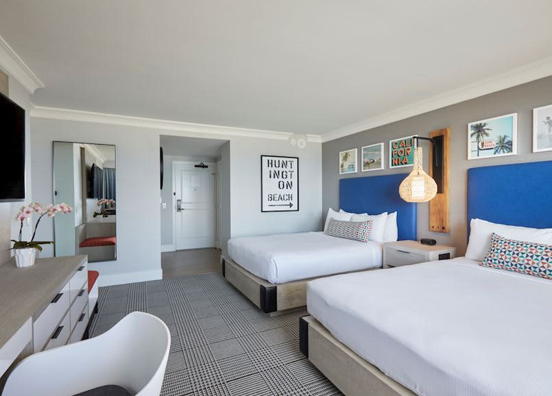 Waterfront Beach Resort - a Hilton Hotel, Huntington Beach Oceanfront Queen Room