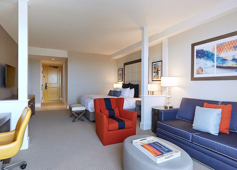 Vista Suite at Waterfront Beach Resort - a Hilton Hotel, Huntington Beach