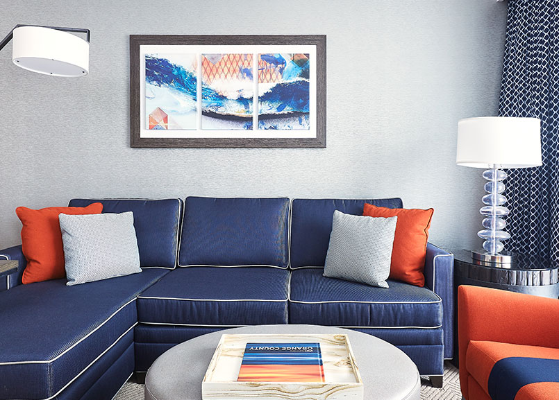 BeacWaterfront Beach Resort - a Hilton Hotel, Huntington Beach Beachwood Suite