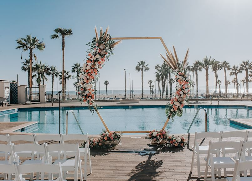 Full Closure Huntington Pool Ceremony at The Waterfront Beach Resort, in Huntington Beach