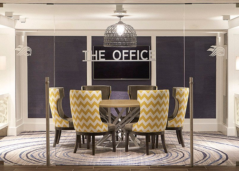 The Office at Waterfront Beach Resort, Huntington Beach