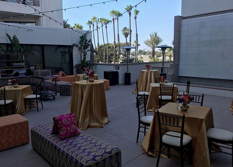 Whitewater Courtyard at Waterfront Beach Resort, Huntington Beach